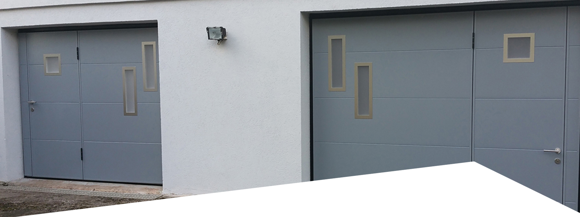Revendeur wedoor en france for Porte de garage fabrication francaise
